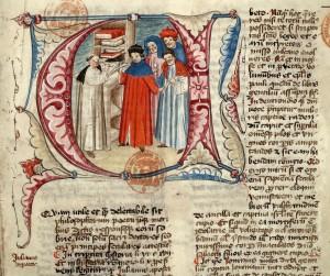 Paris, Bibl. Mazarine, ms. 1563, f. 001